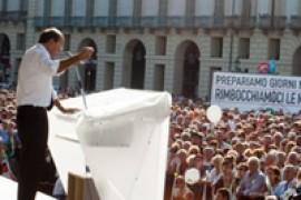 Torino 12 settembre, Bersani parla alla festa dell'Unità