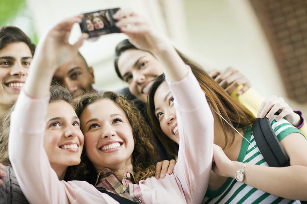 selfie di gruppo