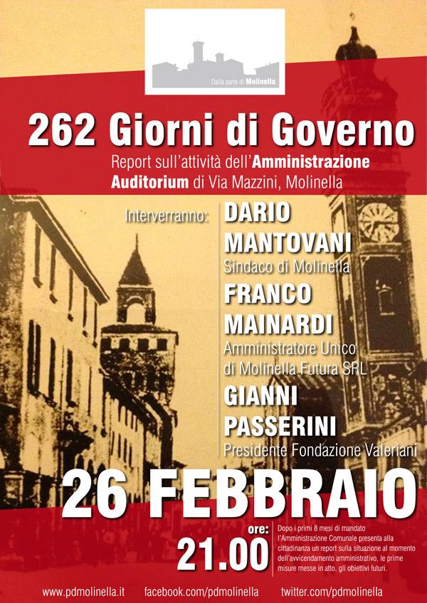 262 Giorni di Governo