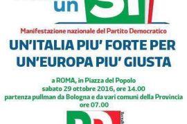 Per un'Italia più forte, per un'Europa più giusta_29 ottobre 2016 a Roma