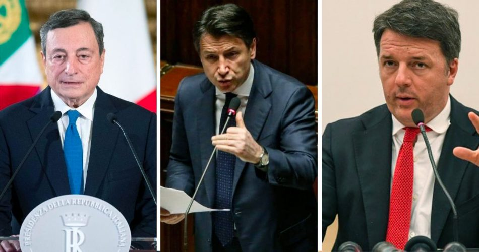 Draghi Conte Renzi